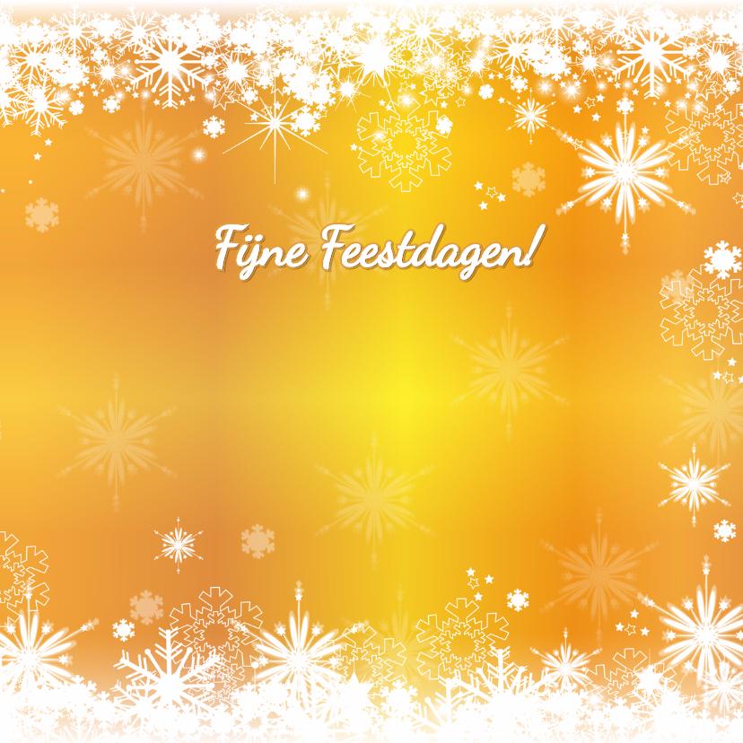Kerst stijlvol fotokaart sneeuw 3