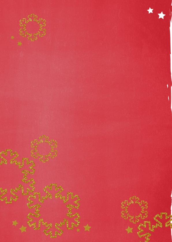 Kerst stoer rood glitter foto 2