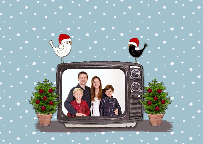 Kerst Televisie Blauw - HR 3