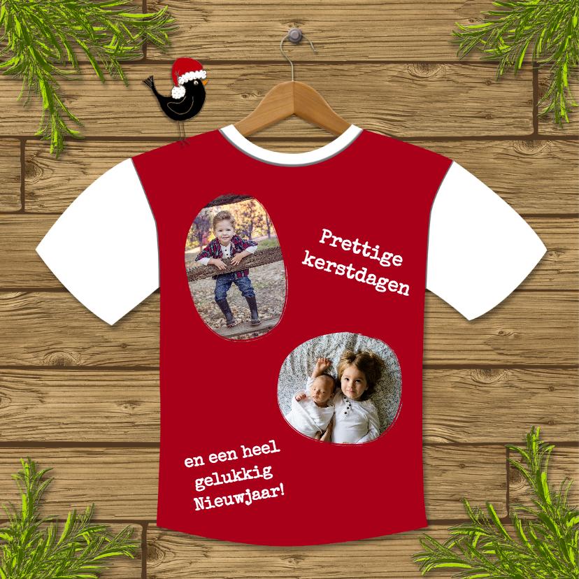 Kerst Tshirt Fotocollage - HR 2