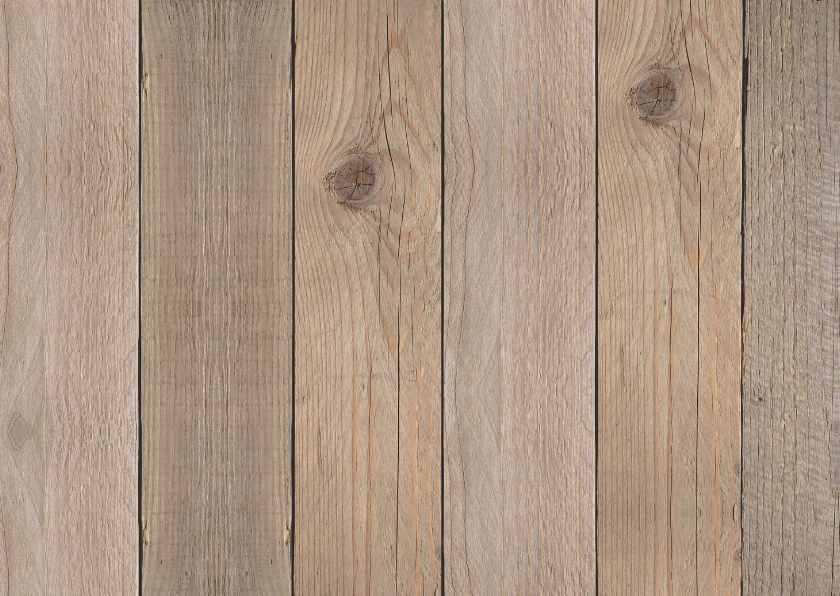 Kerst verhuiskaart fotocollage hout 2