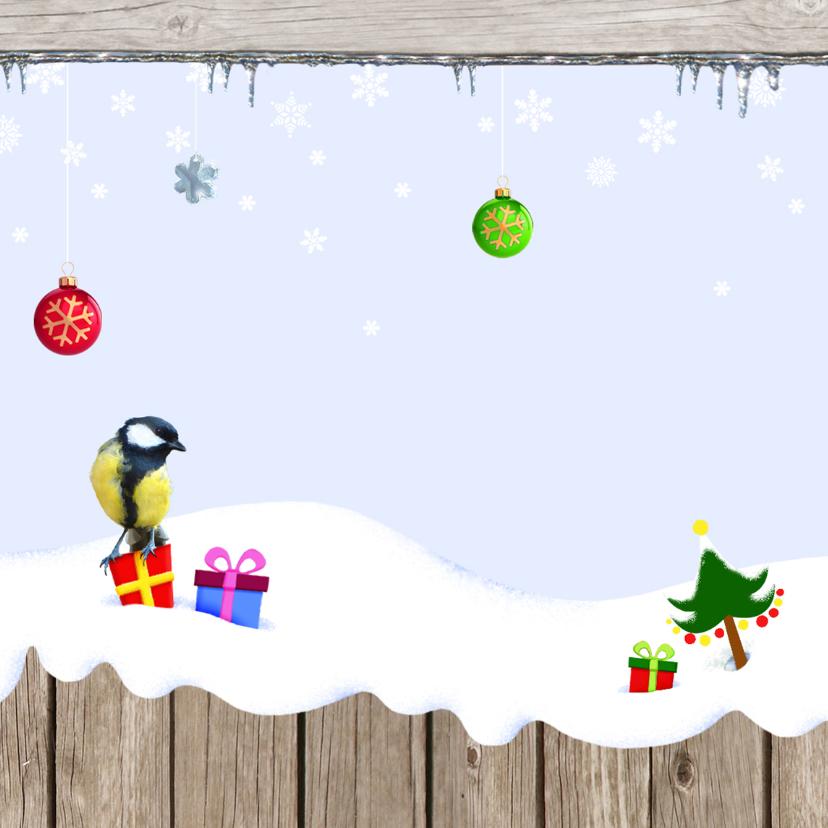 Kerst Vrolijke Sneeuwplaat 2