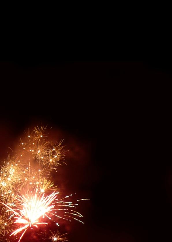 Kerst Vuurwerk - fotokaart 2