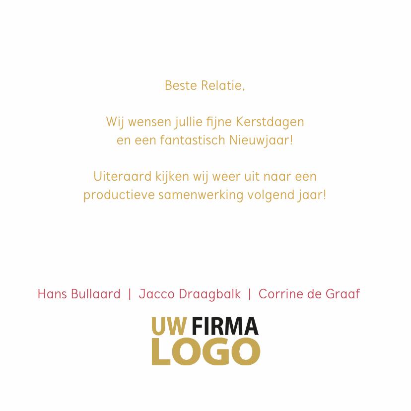 Kerstballen label pastel logo bedrijf 3