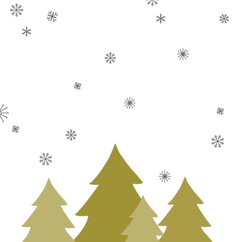 Kerstboom handgeschreven tekst 2