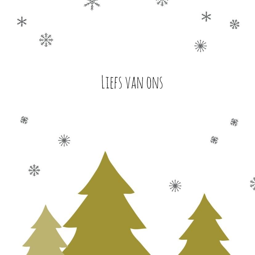Kerstboom handgeschreven tekst 3
