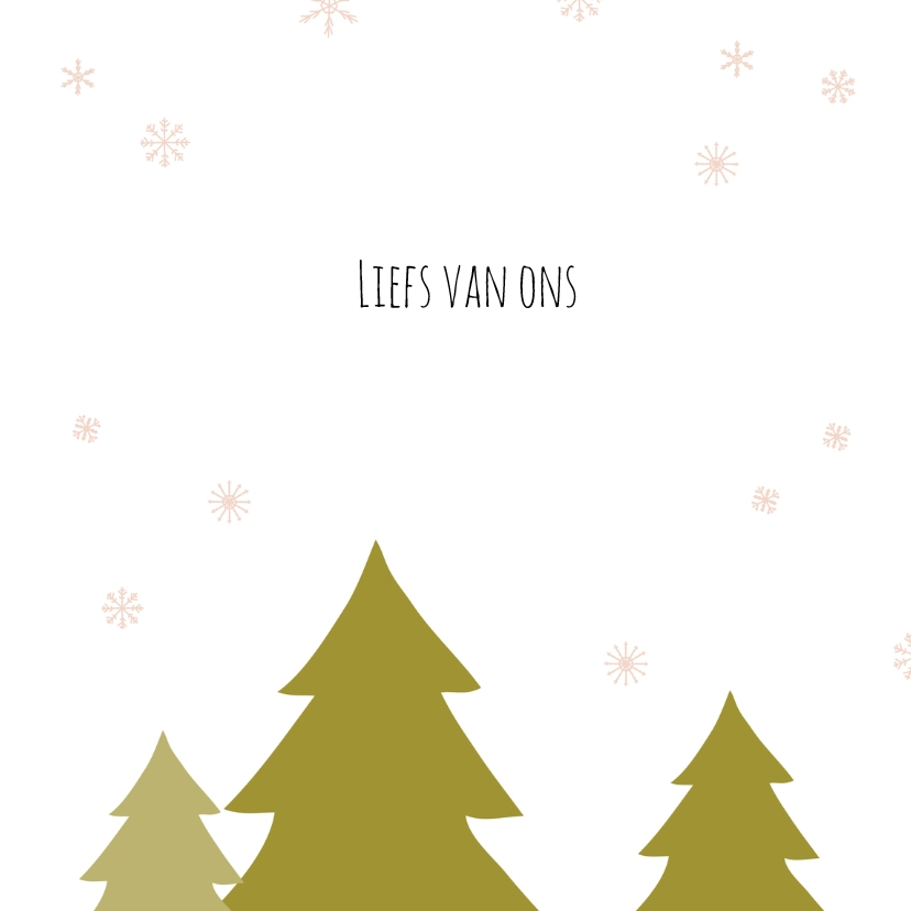 Kerstboom sneeuw 3