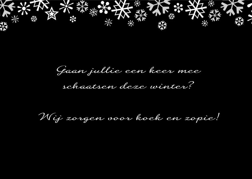 Kerstgroet winters Amsterdam 3