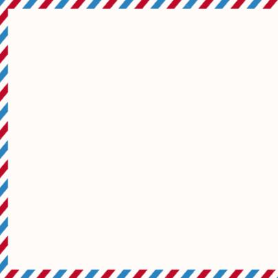 Kerstkaart Airmail Foto 2