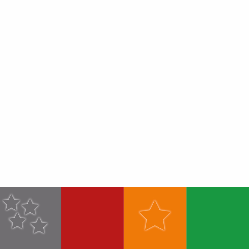 Kerstkaart blok oranje - SZ 2