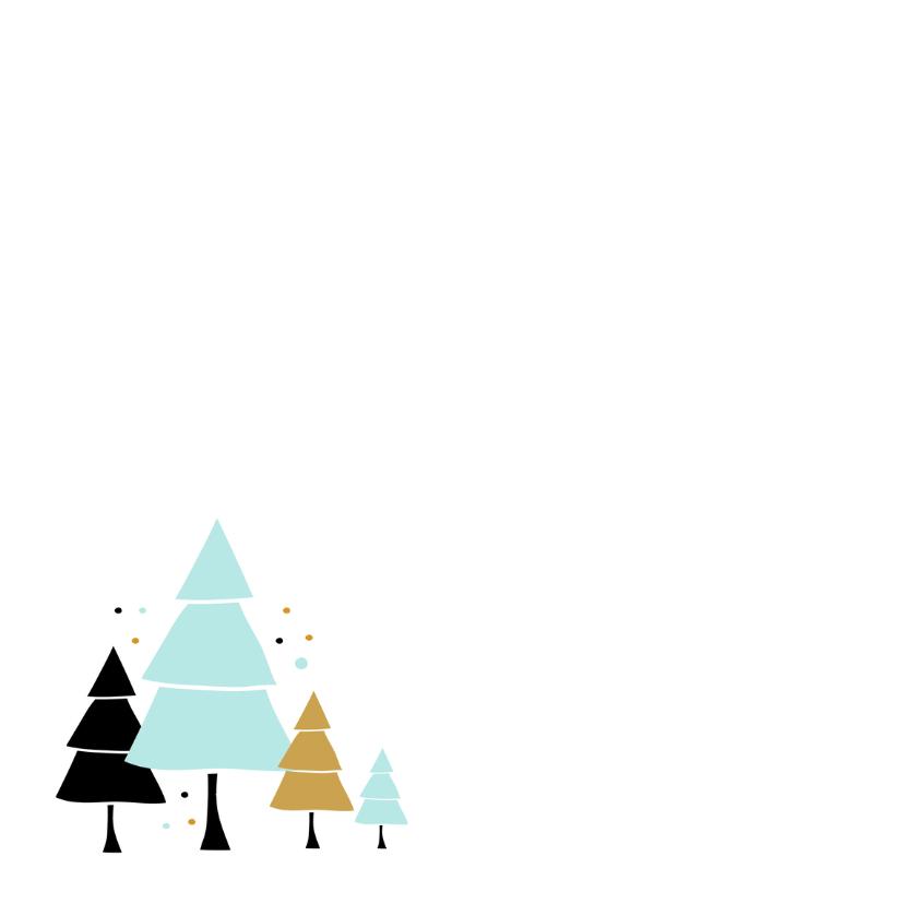 Kerstkaart Boompjes 2