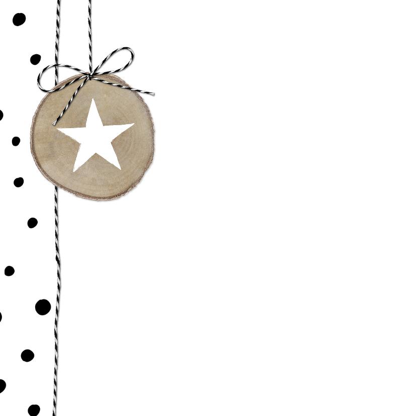 Kerstkaart Boomschijven Stippen 2