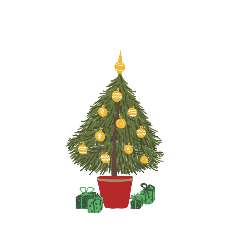 Kerstkaart Christmas Home 2
