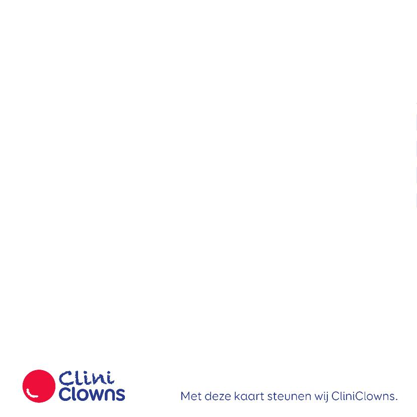 Kerstkaart CliniClowns - EM 2