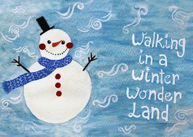 Kerstkaarten - Kerstkaart CliniClowns winter