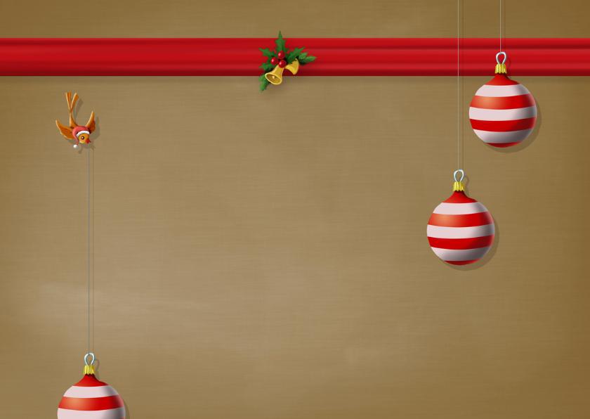 Kerstkaart diertjes dragen jaartal pakjes naar kerstboom 2