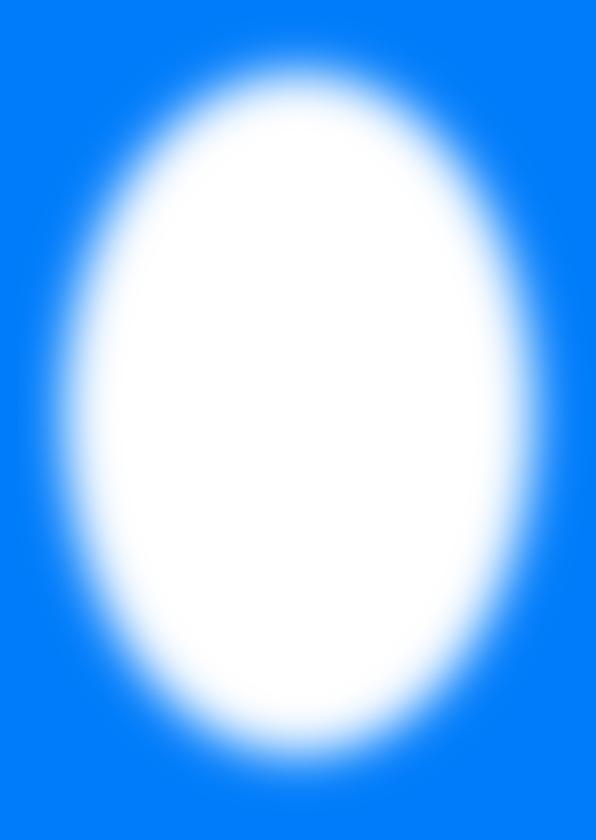 Kerstkaart eigen foto blauw - OT 3