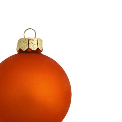 Kerstkaart eigen foto kerstbal og - OT 2