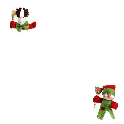 kerstkaart eigen foto kerstman 2 - OT 3