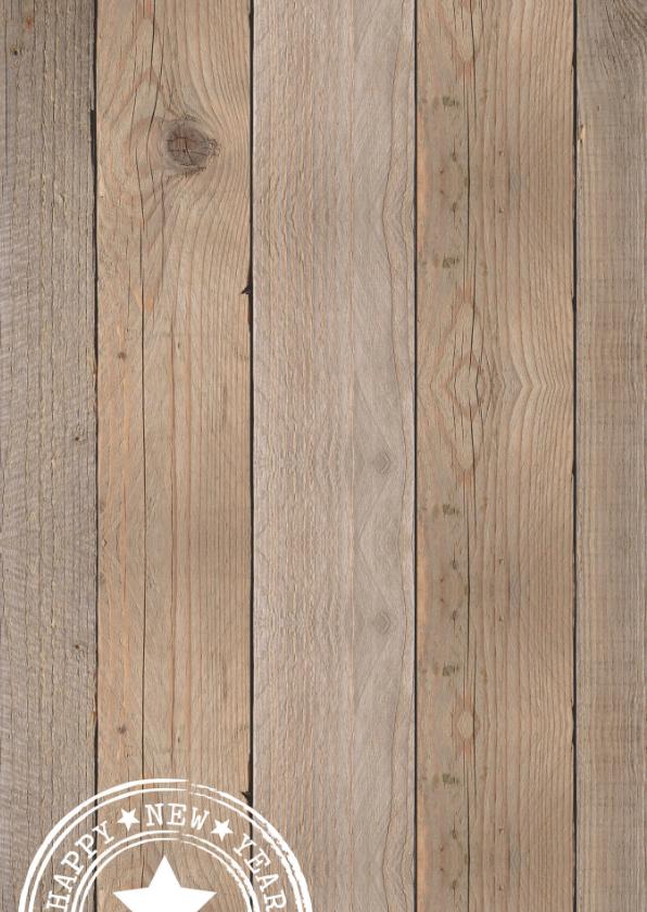 Kerstkaart fotocollage hout hartje mintgroen 2