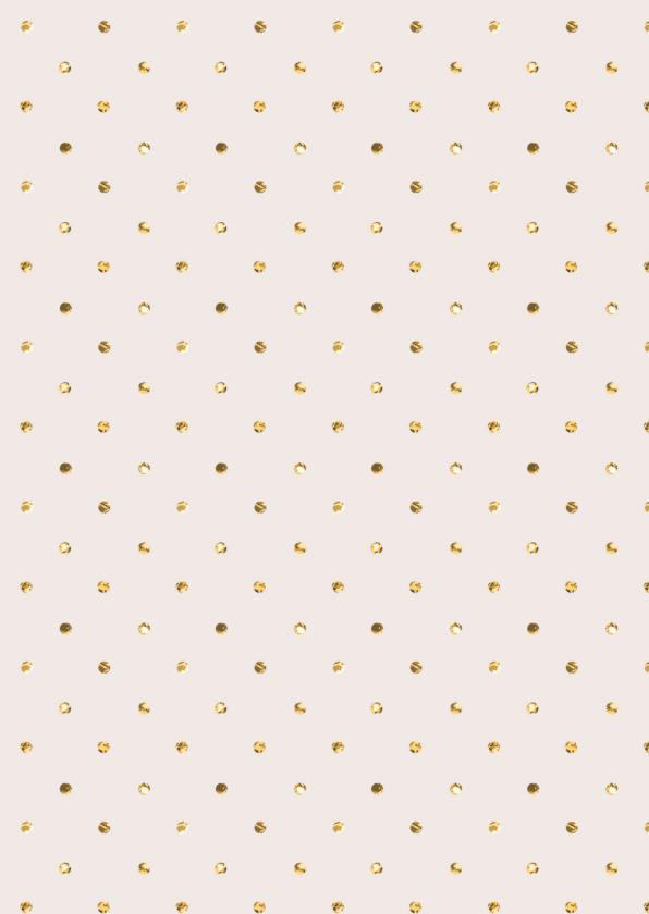 Kerstkaart Goud Confetti glitter 2