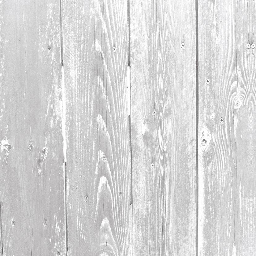 kerstkaart grijs foto hout en stempel 2