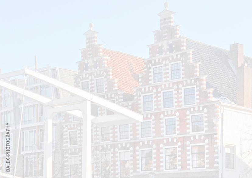 Kerstkaart-Haarlem Winter 2