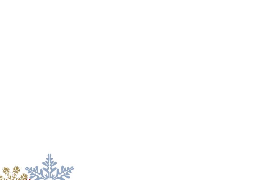 Kerstkaart Hart Schoolbord  2