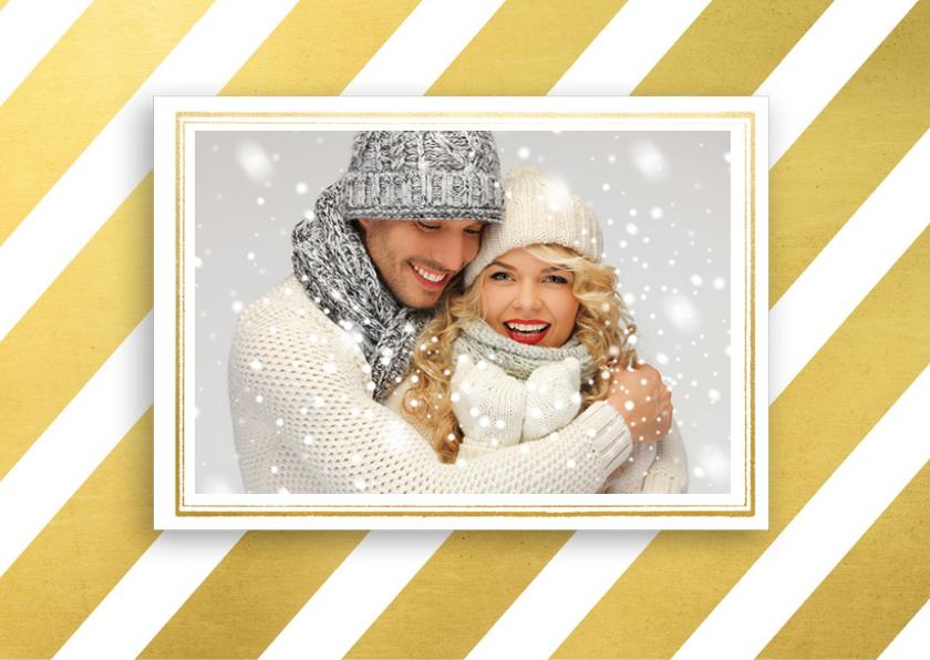 Kerstkaart hert eigen foto - SG 2