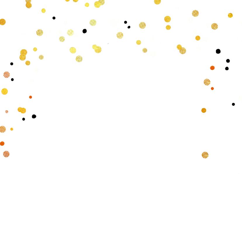 Kerstkaart hip confetti slinger 2
