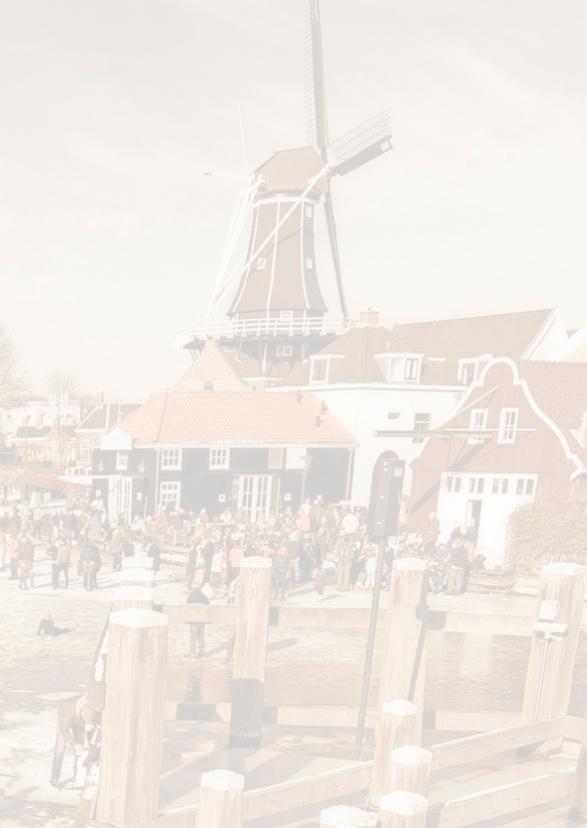 Kerstkaart-Holland Tafereel 3