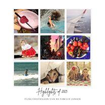 Nieuwjaarskaarten - Kerstkaart Instagram fotos