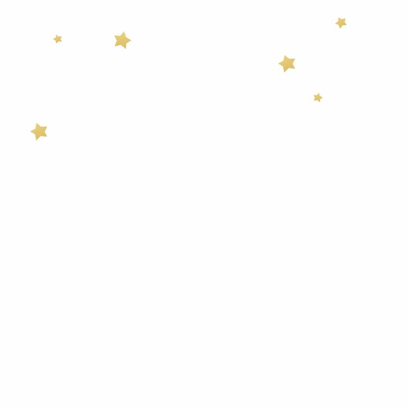Kerstkaart Joy goudlook 2