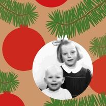 Kerstkaarten - Kerstkaart kerstbalfoto 4k