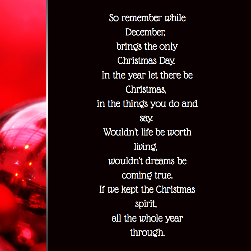 Kerstkaart kerstballen bord RB 2