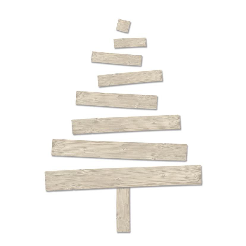 Kerstkaart kerstboom hout1-HR 2