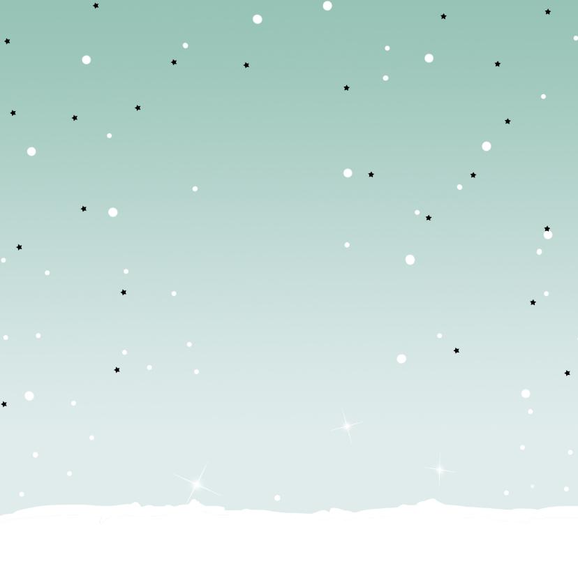 Kerstkaart Kever rood 2