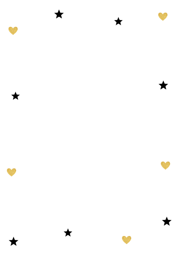 Kerstkaart label goud - LB 2