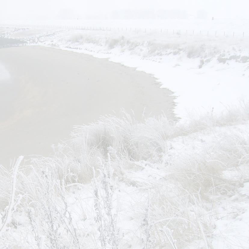 kerstkaart landschap sneeuw 3