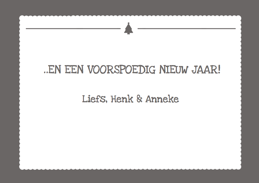 Kerstkaart Letters Eigen Foto  3