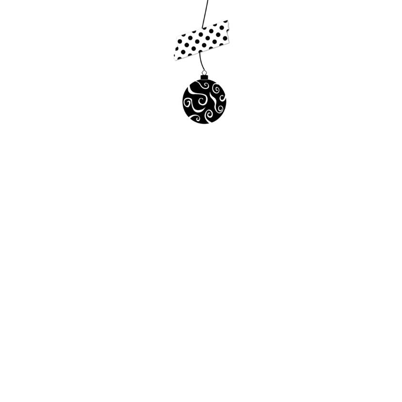 Kerstkaart letterslinger hsx - B 3