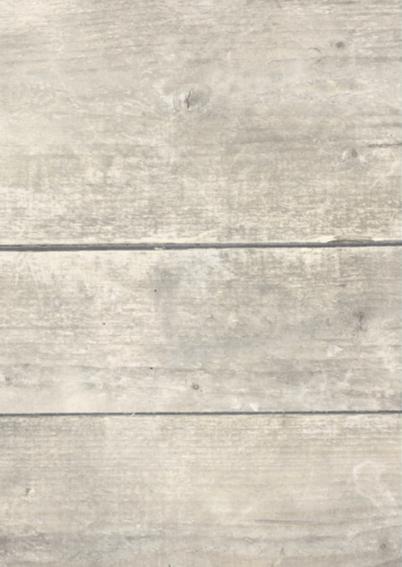 Kerstkaart met houtprint, 1 2