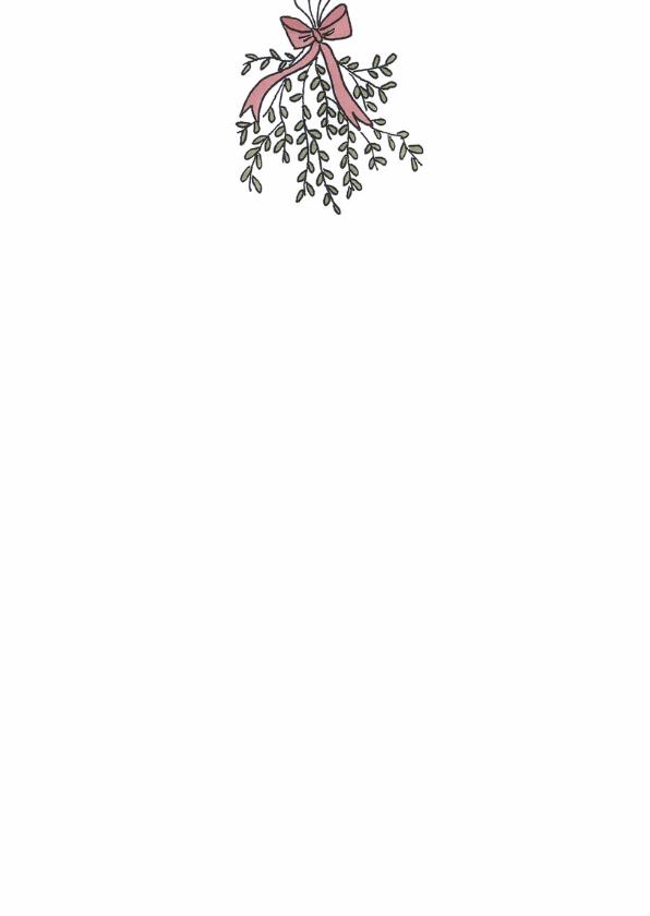 Kerstkaart Mistletoe - LFZ 3