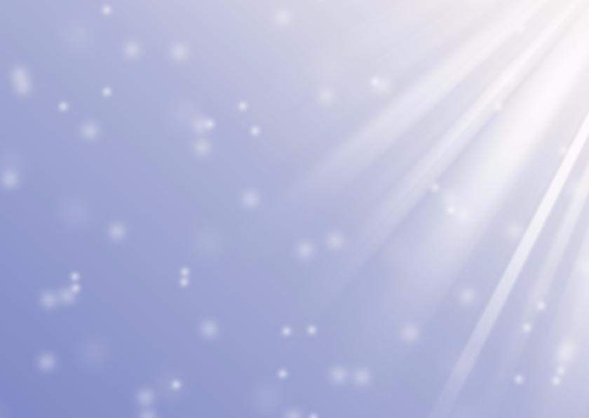 Kerstkaart oneindige voorspoed A 2