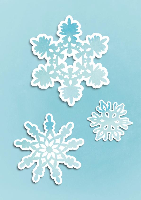 Kerstkaart Papercutting - SG 2