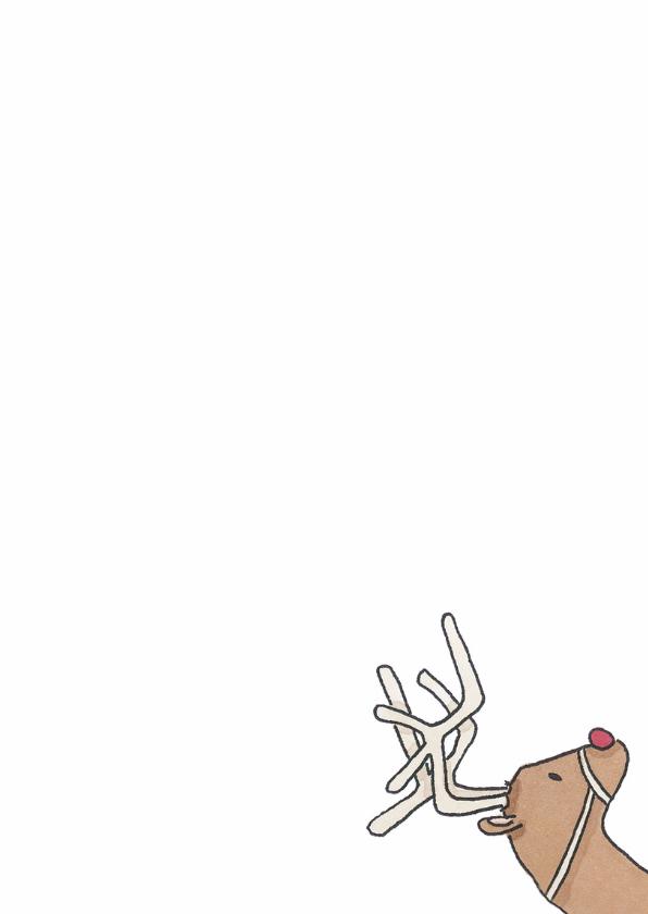 Kerstkaart Rudolf - LFZ 3