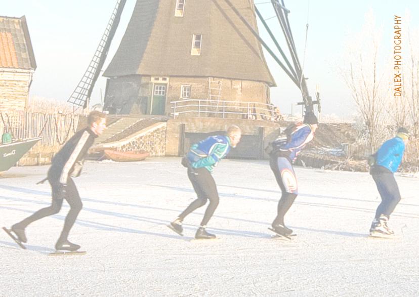 Kerstkaart-schaatsers 3
