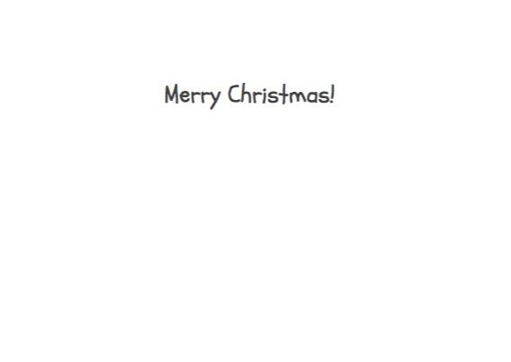 Kerstkaart Scrabble steentjes 3