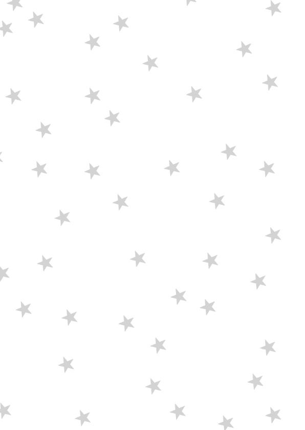 Kerstkaart slinger foto zwartwit 2
