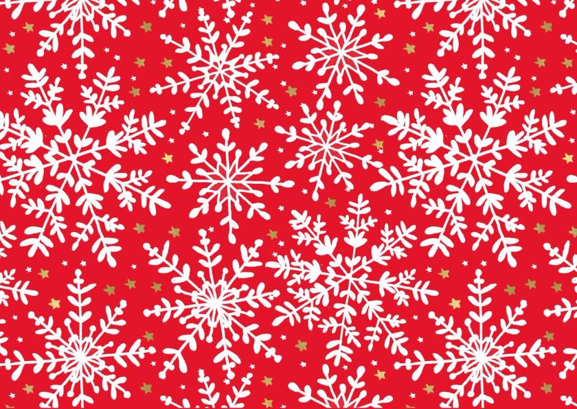 Kerstkaart Sneeuw kader 2